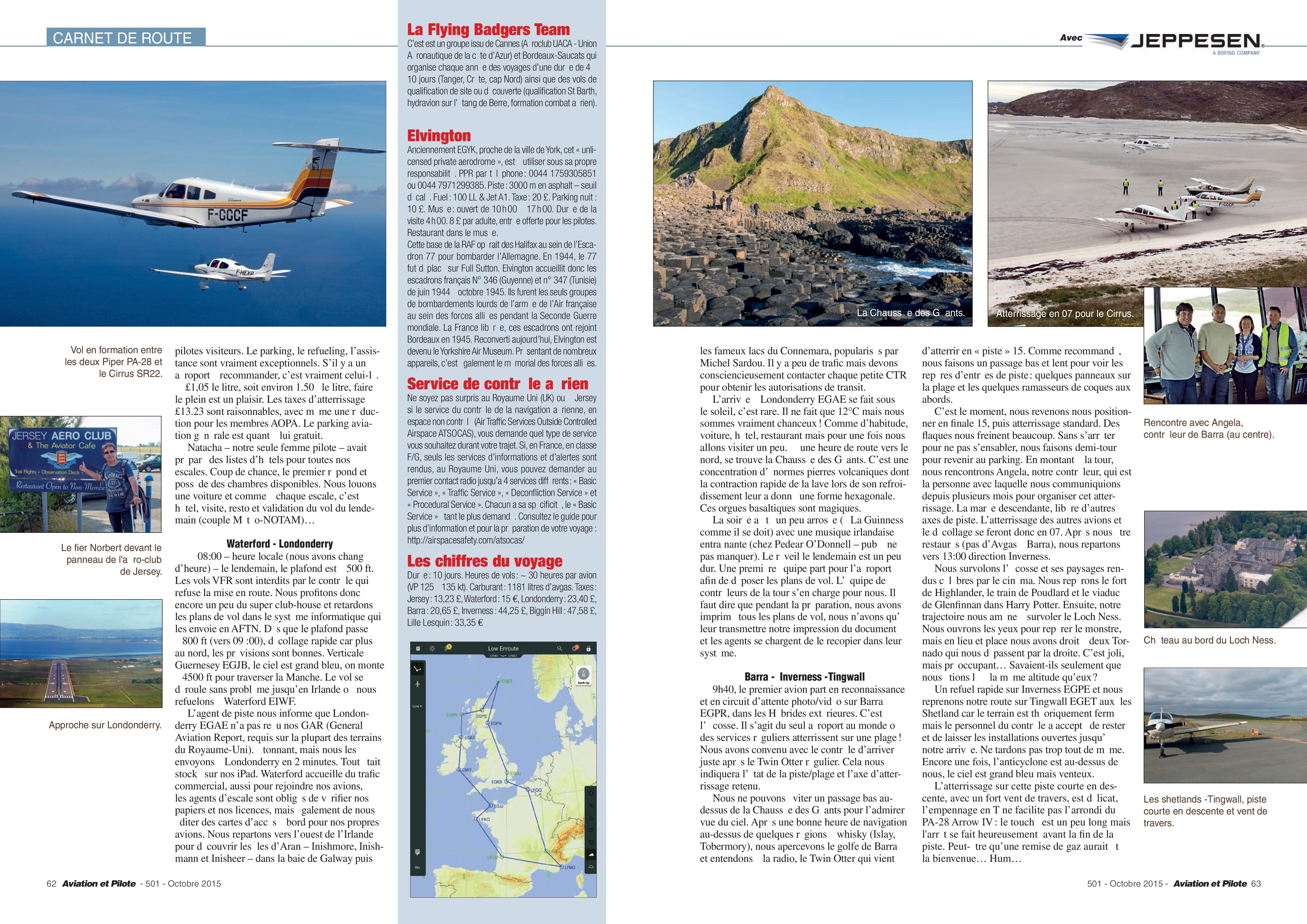Aviation et Pilote Carnet 501 page 002