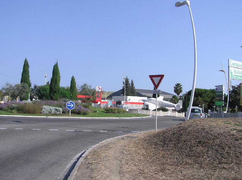 Acces rond-point